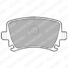 Brake Pads Rear 260x12mm & 286x12mm